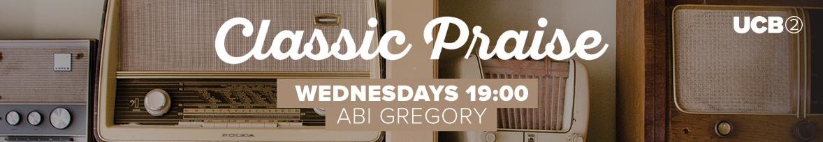 Wednesdays 19:00 with Abi Gregory