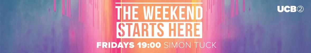Fridays 19:00 with Simon Tuck
